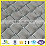 2.0mm galvanized wire with 50mmX50mm diamond hole garden fence galvanized chain link fence