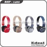 professional fashion Bluetooth Noise Cancelling Microphone Function headphones from BSCI manufacturer