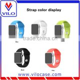 New WatchBand For Apple Watch Strap Split Silicone Wrist Band Strap For apple watch 38mm 42mm Band