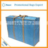 China manufacturer pp woven travel luggage bag big size for home moving packing