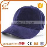 Custom fashion 100% corduroy satin baseball cap/6 panels trucker baseball caps                                                                         Quality Choice