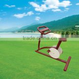 Environmental Galvanized pipe outdoor exercise bikes
