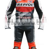 Also available in Cordura, two Piece Motorcycle leather Suit