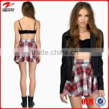 New arrival girl's tartan skirts, plaid skirts for girl's clothing, high quality clothing manufacturers