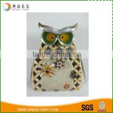 Wholesale vintage hollow metal owl Christmas candle holder                                                                                                         Supplier's Choice