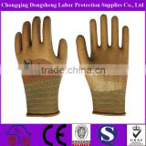 13G Polyester Shell Anti-Acid Oil Proof Nitrile Coated Safety Gloves