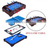 "36 ""Multi function 4 in 1game table top kids toy table 4 different game ( soccer / table tennis/ air hockey/ pool ) -"