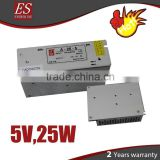 Professional LED Display Power supply 5v,25w