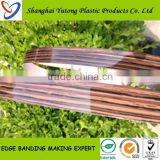 bed room furniture pvc edge banding for particle board/plastic shelf edge strips