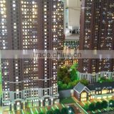 1/100 Apartment buildings maquette architectural scale model maker