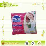 organic cotton sanitary napkin ,perforated sanitary napkin with negative