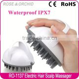 Factory supply beauty care materials silicone scalp massage brush for blood circulation