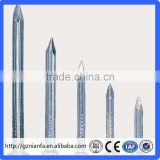 Electro/hot dip galvanized concrete nails/Construction and Building Common iron nail(Guangzhou Factory)