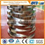 Good flexible blue tempered rolling shutter spring steel strip /cold rolled steel strips