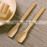 CY192 Wooden Jam Butter Knife Cream Cheese Spatulas Baking Spreader Tea Spoons
