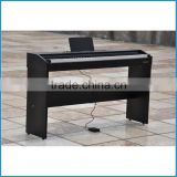 new design cheap digital piano 88 key, electric piano black, upright electronic piano with hammer action keyboard