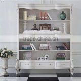 Modern White Filling Cabinet, Wooden French Book Cabinet,White Color File Cabinet,Durable Modern Wood Furniture(BG600096)