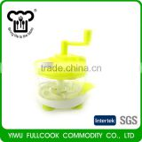 New selling home use small manual food processor swift chopper