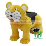 New arrival!!!HI CE animal scooter electric ride in horse,baby tiger amusement park toys for kids