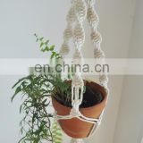 HANDMADE ROPE POT HANGER MACRAME ART STYLISH PLANT HANGER BEST INDOOR AND OUTDOOR PLANT HANGER