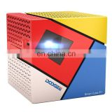 Wholesale DOOGEE Smart Projector,Drop Shipping WiFi Projector,Cube P1 Projector,Android 6.0,Contrast Ratio: 800:1,70 Lumen,RAM1G