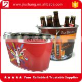 large aluminum metal champagne beer ice buckets with custom logo