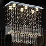 Lighting Crystal LED Chandelier Pendant Light 8034-6