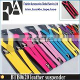 Factory Price colorful Personalized Fashion Elastic Suspender for Men and Woman