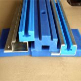 wear resistant uhmw pe guide, plastic guides rail, plastic chain guide plate