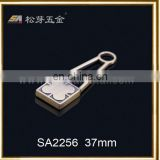 zipper slider design engraved zipper slider,bag metal puller wholesale bag metal puller -SA2256