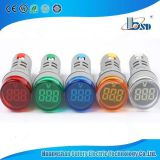 mini round digital voltmeter for 110/220v , digital voltmeter panel