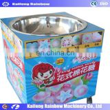 Hot Sale Commercial Cotton Candy Floss Making Machine with flower cart
