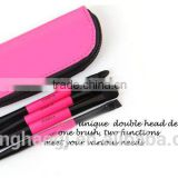 Multi-colored options Top Quality Travel kit Makeup Brush Rose red eyeshadow brush 4 pcs