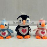 talking and walking stuffed penguin plush toy custom made