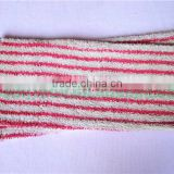 Eco-friendly Microfiber Stripe Dyed Yarn Mop Heads For Home Cleaning Useful and Efficient