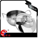 Shencai Professional Induction Bottom Stainless Steel Belly cooking Pot / Stew Cooking Pot