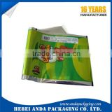 Printed ice candy plastic bag /plastic packaging ice lolly/ frozen ice cream bar plastic wrapping film
