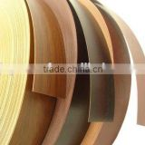 Furniture wood grain color pvc edge banding for India market