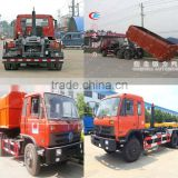20000 kg Hydraulic lifter container garbage truck.hydraulic arm garbage truck.Arm roll garbage truck