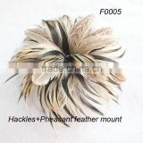 Fashion feather flower for hat trimming