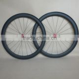 28 inch 50mm carbon clincher wheels U 23mm wide road bicycle wheelset R13 Hubs F:20H R:24H