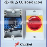 Cansen switch LW30-32B off-on 6 pole rotary cam switch with box control Ventilation system Air Conditioner Pump system AC motor