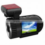 Ambarella real FHD 1080p mini size car dvr 1.5inch car black box camera with gps,G-snesor