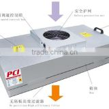 HEPA Air filter with Fan , FFU Fan filter unit manufacturer , air handling unit air filter