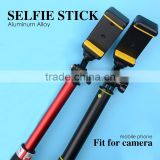 New products 2016 selphie stick monopod folding camera tripod FOR sj4000 sport action camera hd1080p