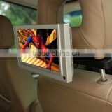 "flint stone 7 "" LCD Car advertising screen,headrest taxi digital signage player Video"
