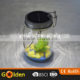 1000 ml 4 LED Multifunctional Stainless Steel Glass Mason Jar