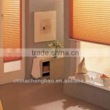 Heat Resistant Cordless Up And Down Combi Blind For Lobby                                                                         Quality Choice