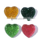 17mm sew on crystal rhinestone,flatback cabochon resin all star style mix color rhinestone gems
