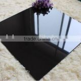 Unglazed Polished Jet Black Quartz Tile
